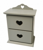 2 Heart Drawer unit