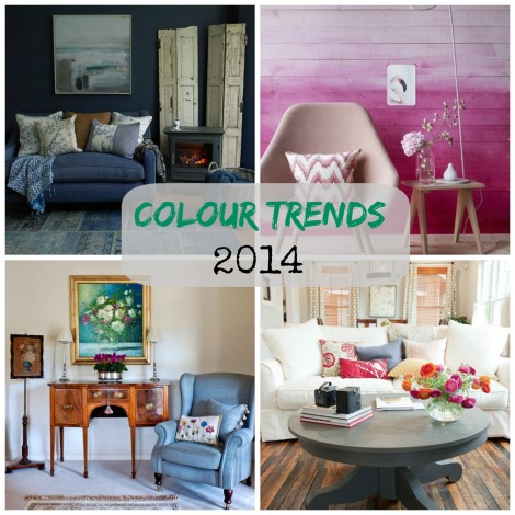 colour trends collage