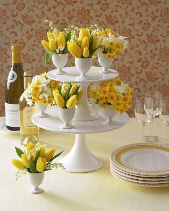 egg cup vases
