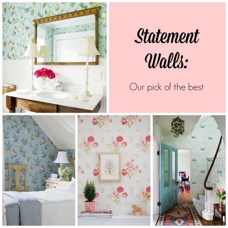 Statement walls